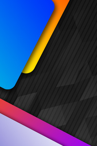 240x400 Material Design Metal Colors 4k