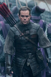 1080x2280 Matt Damon The Great Wall