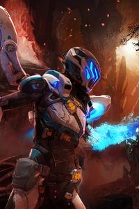 Matterfall Video Game Artwork