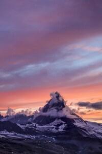1080x2160 Matterhorn Mountain