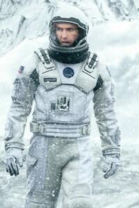 Matthew Mcconaughey In Interstellar Movie