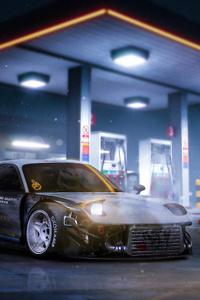 720x1280 Mazda Rx7 Cgi Art 4k
