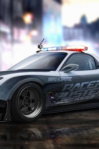 Mazda Rx7 Police