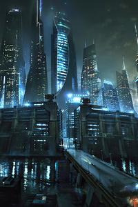 Mazer Runner Death Cure City Concept 4k