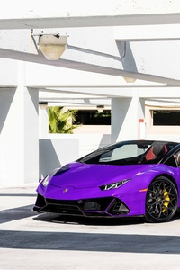 240x400 MC Purple Huracan Carbon EVO Front 8k
