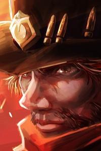 Mccree Overwatch Art 5k