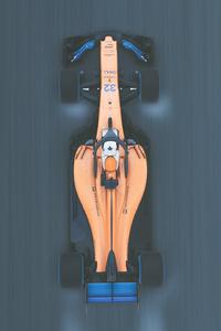 McLaren 2018 F1 4k