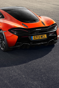 Mclaren 570gt Black Pack Rear View