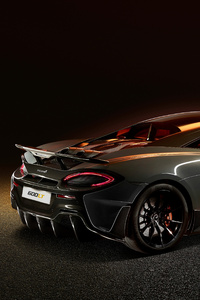McLaren 600LT 2018 Rear View