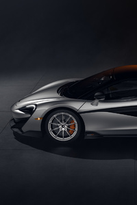 640x1136 McLaren 600LT CGI Side View