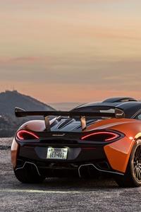 1242x2688 McLaren 620 R 8k