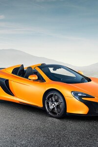 Mclaren 650S Spider Super Car