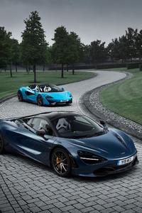 McLaren 720S And McLaren 570S Spider