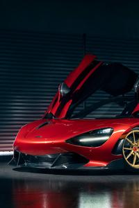 1080x2160 McLaren 720s For Vorsteiner 4k