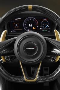 Mclaren 720s Steering View
