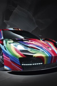 Mclaren Colorful Art