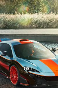 McLaren F1 McLaren MSO 675LT Gulf Racing Theme 2018
