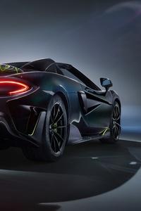 540x960 McLaren MSO 600LT Spider 2020 Rear