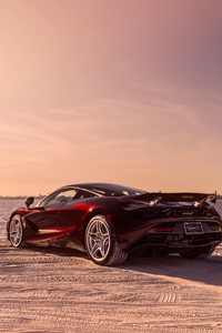 McLaren MSO 720S Coupe 2018 Rear View
