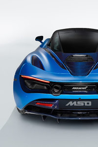 McLaren MSO 720S Pacific Theme 2018 Rear