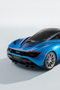 McLaren MSO 720S Pacific Theme 2018 Rear View