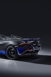 McLaren MSO 720S Spider 2019 Rear
