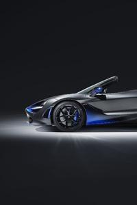 McLaren MSO 720S Spider 2019 Side View
