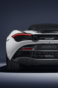 McLaren MSO 720S Track Theme 2018 Rear