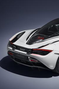 McLaren MSO 720S Track Theme 2018 Upper View