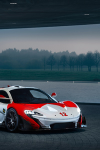 1125x2436 McLaren MSO P1 GTR Ayrton Senna 2018 4k