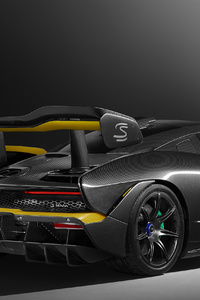 McLaren MSO Senna Carbon Theme 2018 Rear