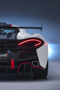 McLaren MSO X 2018 Rear