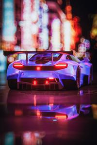 1080x1920 Mclaren Neon 4k