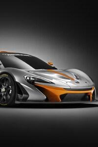 640x1136 Mclaren P1 GTR Super Car Concept