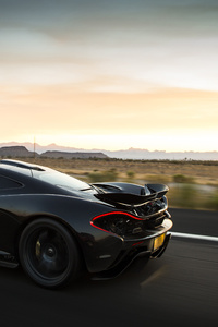 McLaren P1 XP7 4k Rear