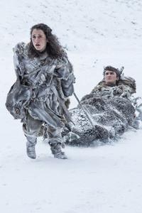 Meera Reed And Bran Stark Season 7