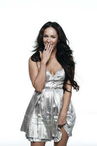 Megan Fox Smiling 4k