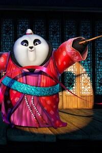 720x1280 Mei Mei Kung Fu Panda 3