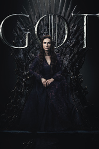 Melisandre Game Of Thrones Season 8 Poster