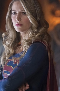 Melissa Benoist In Supergirl Season 3 2017