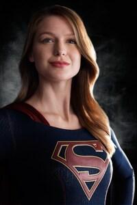 2160x3840 Melissa Benoist Super Girl