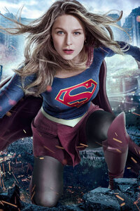Melissa Benoist Supergirl 2017 Tv Series