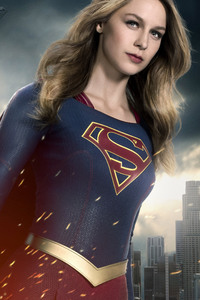 2160x3840 Melissa Benoist Supergirl Tv Series