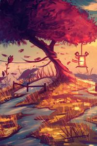 Memories With Tree 4k