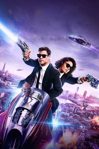 640x1136 Men In Black International Poster 2019