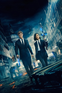 Men In Black International Poster 4k