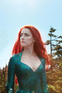1080x2280 Mera And Aquaman In Movie