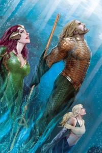 Mera Aquaman Art