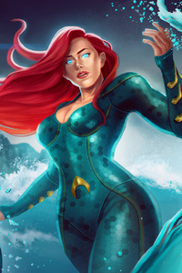 Mera Fan Art