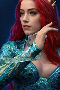 Mera Redhead Portrait 5k